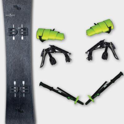 Ensembles de splitboards
